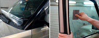 Бронирование стекол автомобиля