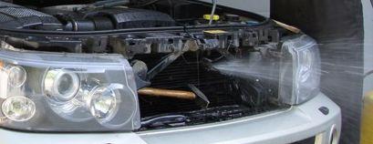 Новая услуга - мойка радиатора без демонтажа