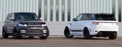 Рестайлинг (обвес) LUMMA для Range Rover Sport New