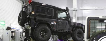 Defender-90 Черный бигфут