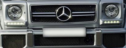 Рестайлинг - обвес G63 AMG Mercedes W463 Гелендеваген