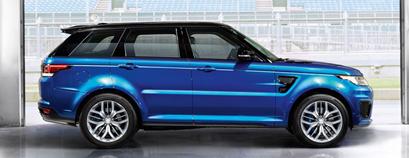 Обвесы Range Rover Sport L494 SVR Design
