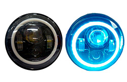 7-LED-SET-BLACK-BLUE