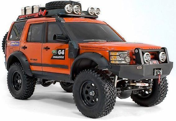 Land rover discovery monster